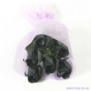 Black rose bouquets, [6r13]